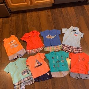 Carter's Baby Boy Short Outfits